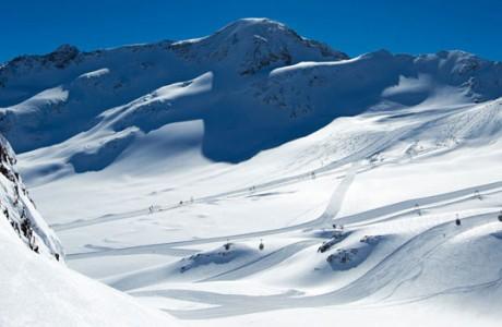 Gletsjer Kaunentaler Oostenrijk