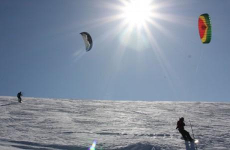 Snowkite Devoluy
